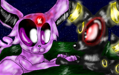 Espeon X Umbreon
