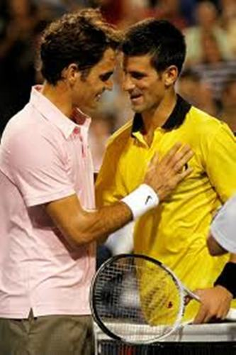 Federer and Djokovic love