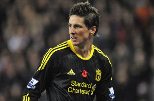 Fernando Torres 壁紙 entitled Fernando Torres wins Premier League Player of the Month!