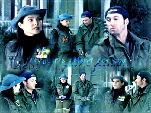 Gilmore Girls wallpaper containing a green beret titled Gilmore Girls ♥