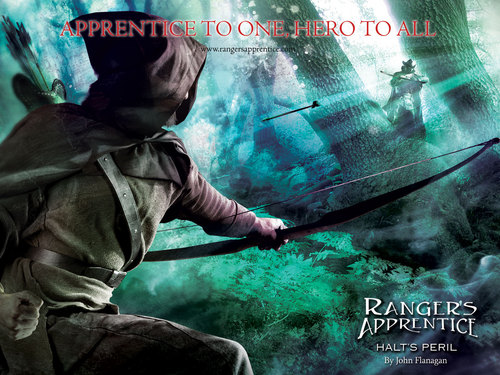 Ranger`s Apprentice books wallpaper titled Halt`s Peril Front Cover