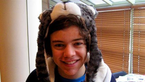 One Direction wallpaper containing a fur coat, a mink, and a fur called Harry ♥