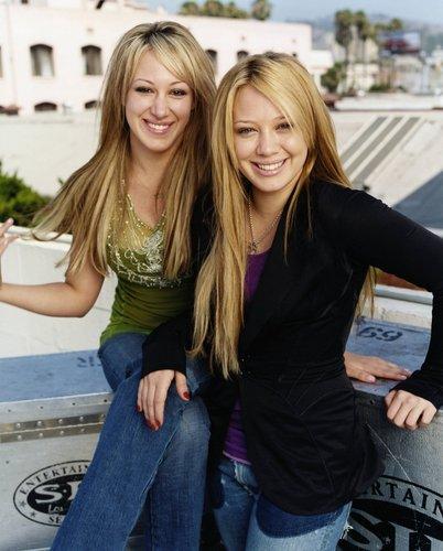 Hilary&Haylie Duff