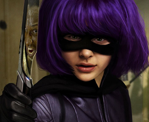 Hit Girl pisau