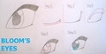 How to draw a Winx eye(this is an example with bloom's eye)