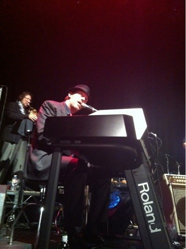 Hugh with the BFTV at the Avalon, Dec. 4th