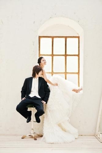 HwangBo & Hyunjoong Wedding picture