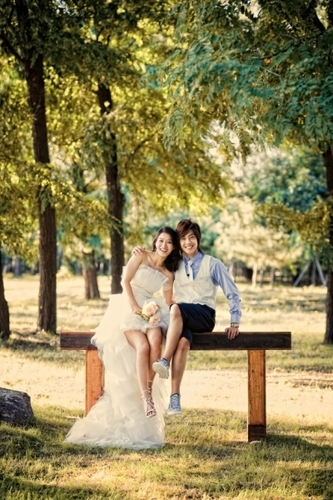 Hyunjoong & HwangBo - Wedding picture
