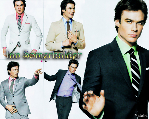 Ian Somerhalder wallpaper with a business suit, a suit, and a three piece suit entitled Ian Somerhalder