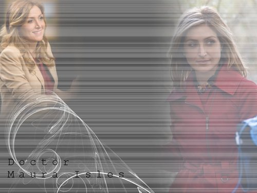 Rizzoli & Isles wallpaper with a fountain titled Isles
