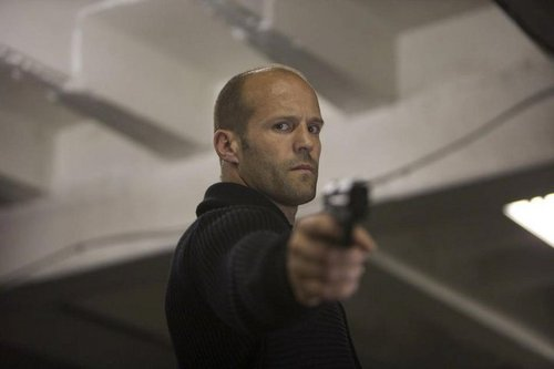 Jason Statham karatasi la kupamba ukuta entitled Jason in The Mechanic