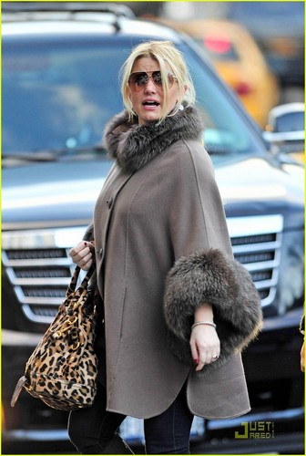Jessica Simpson Unleashes Her Inner Animal