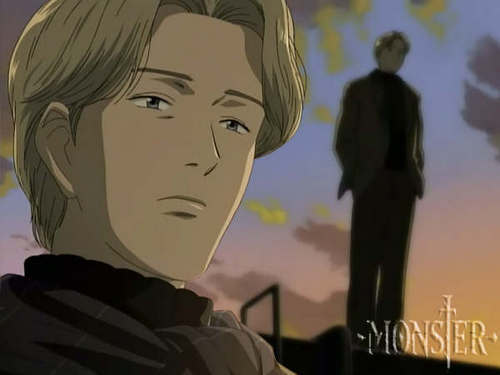 Monster پیپر وال titled Johan Liebert