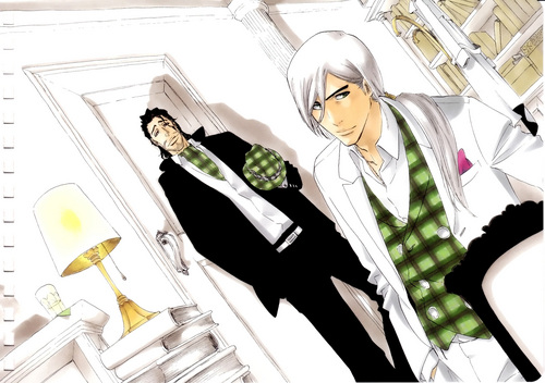 Jushiro and Shunsui
