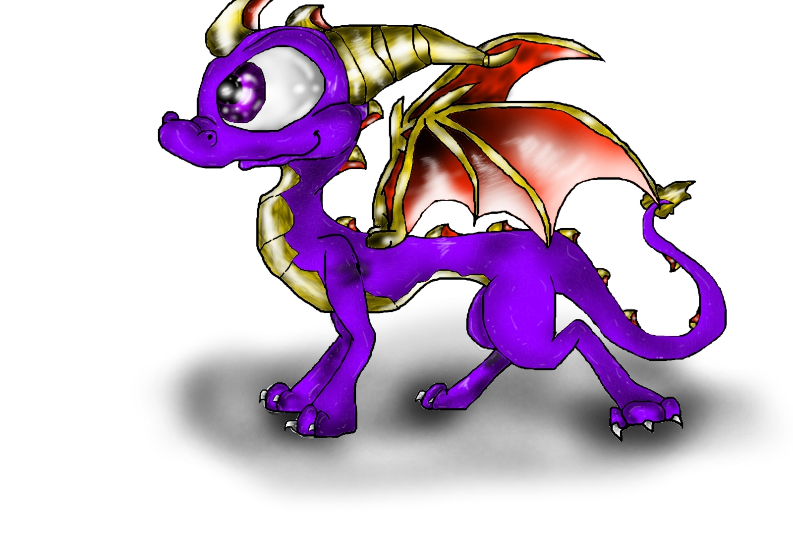 Cynder Just Spyro