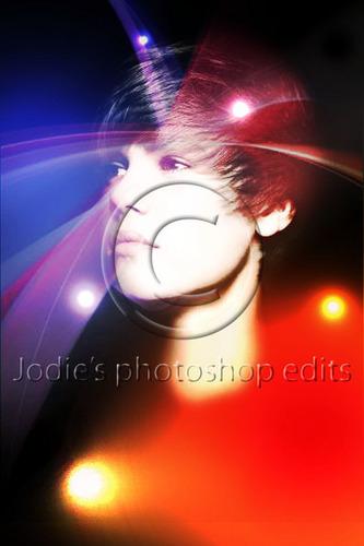 Justin Bieber flashing lights चित्र संपादन करे
