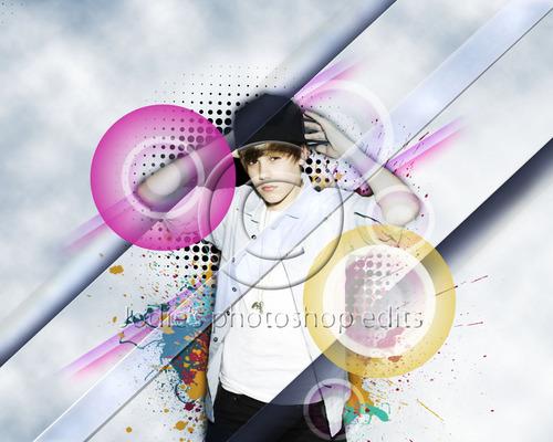 Justin Bieber photo edit