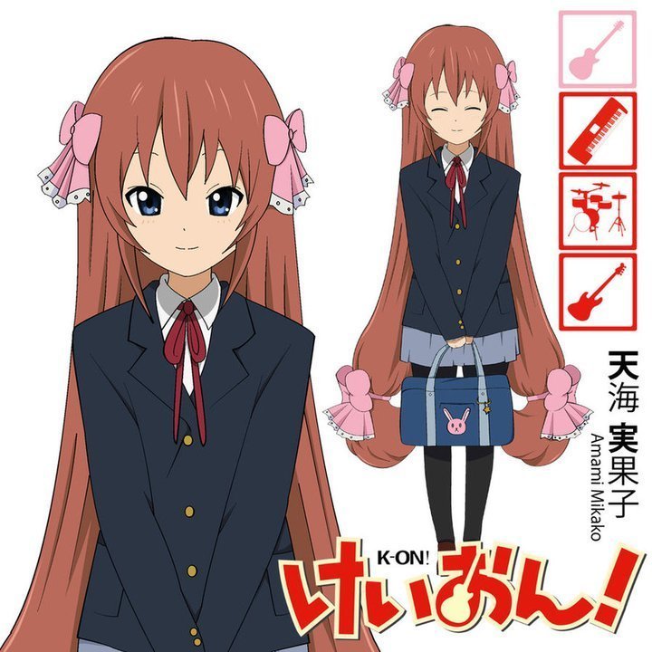 K On Characters K-on new Character Amami