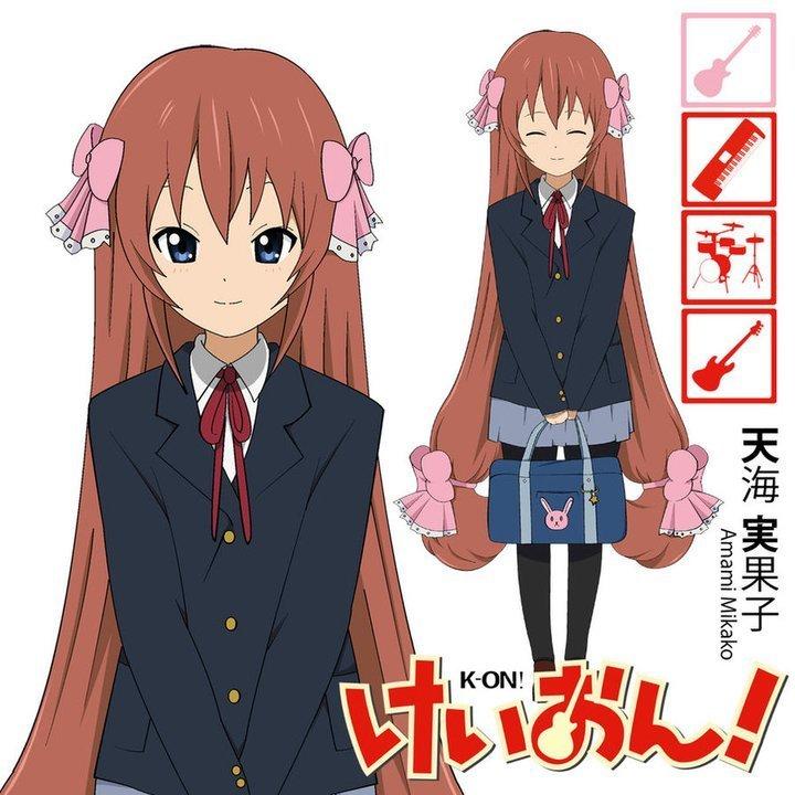 K-on new Character Amami Mikako!!!!!!!!!!