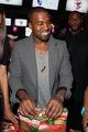 Kanye & Selita @ New Yorkers Wrap to Rap Benefit