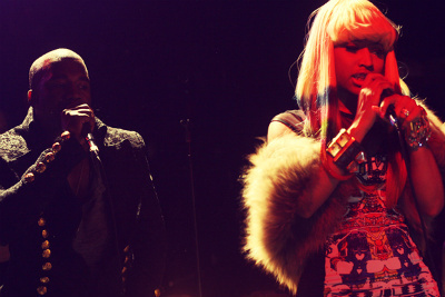 Kanye West's secret NYC Show 11/23/10