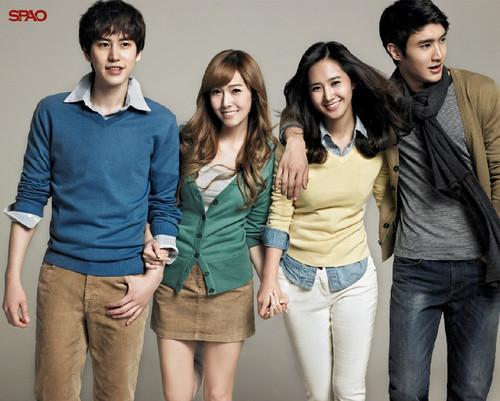 Kyuhyun, Jessica, Yuri & Shinwon For Spao