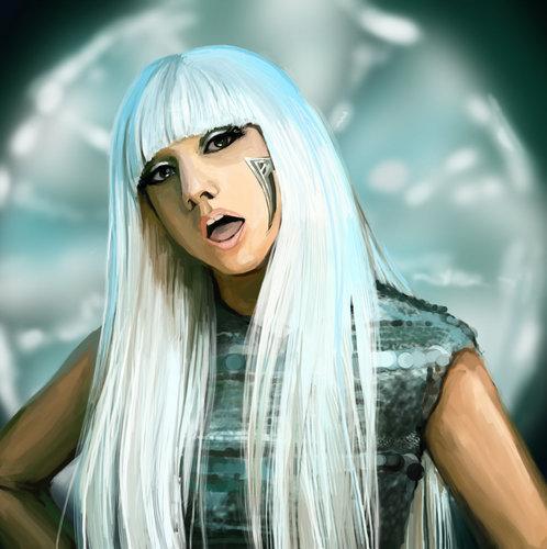Lady Gaga My پسندیدہ Singer In my life