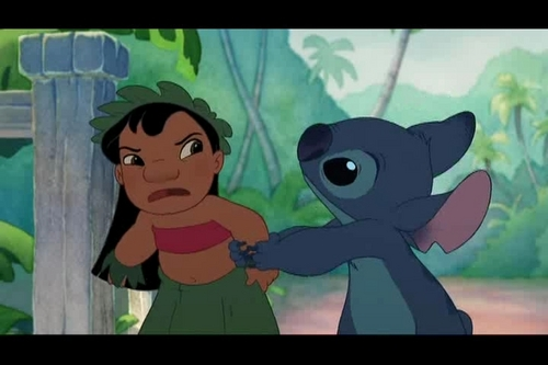 Lilo & Stitch Hintergrund possibly with Anime titled Lilo & Stitch