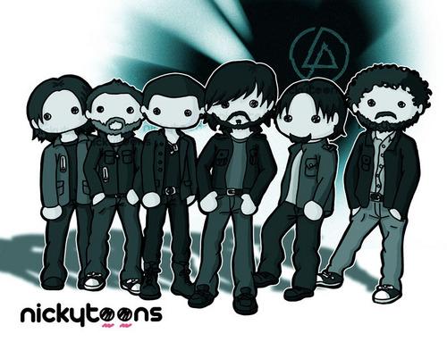 Linkin Park Cute Drawings.