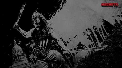 Machete wallpaper containing a street entitled Machete Wallpaper