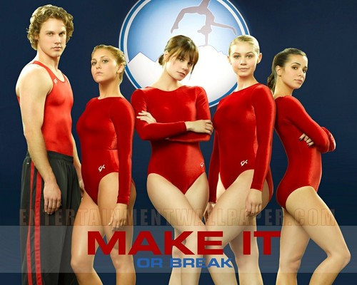 Make It 또는 Break It 바탕화면 possibly with a leotard called Make it 또는 break it