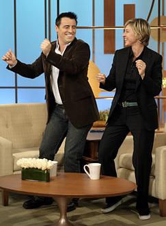 Matt LeBlanc on 'The Ellen DeGeneres Show'