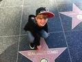 Matty in hollywood w/ diddy!