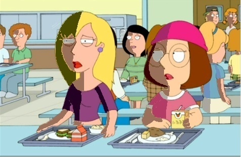 Meg Griffin and Connie D'Amico