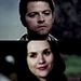 Meg and Castiel - castiel-and-meg icon