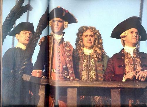 Mercer, Norrington, Swann and Beckett