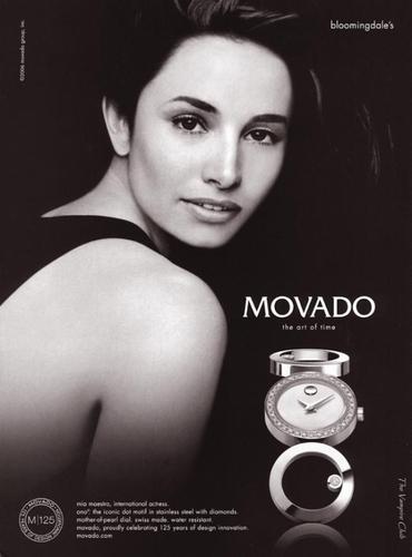 Mia Maestro - Movado