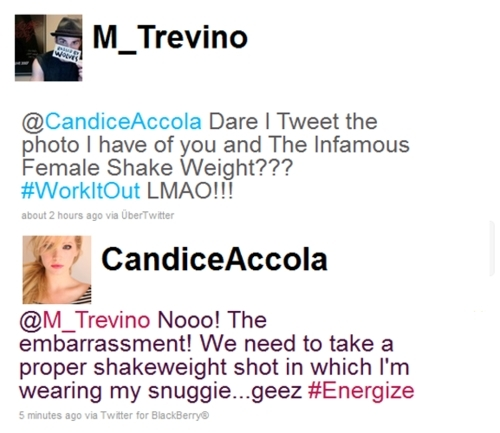Michael&Candice Tweet!
