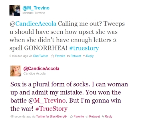 Michael&Candice Tweets