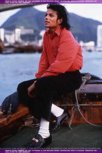Michael Jackson (rare Photo)