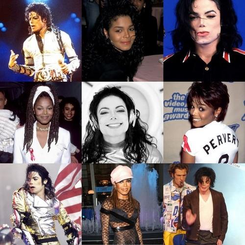 Michael & Janet through years <3