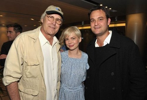 Michelle Williams & Chevy Chase - Blue Valentine Screening hosted bởi Jake Gyllenhaal