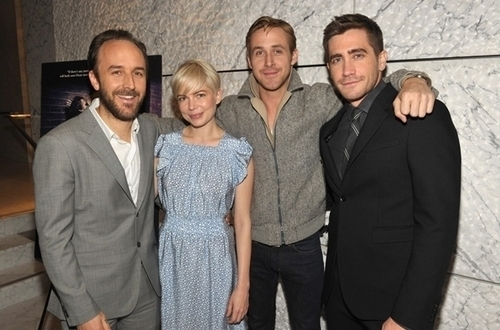 Michelle Williams & Ryan gänschen, gosling - Blue Valentine Screening hosted Von Jake Gyllenhaal