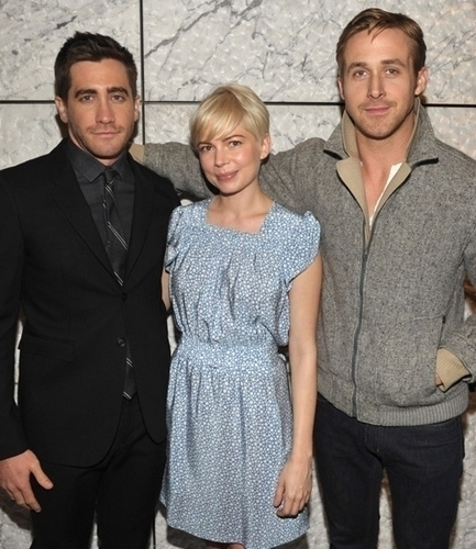 Michelle Williams & Ryan ngỗng con, gosling - Blue Valentine Screening hosted bởi Jake Gyllenhaal