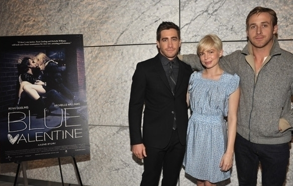 Michelle Williams Ryan Gosling Blue Valentine Screening