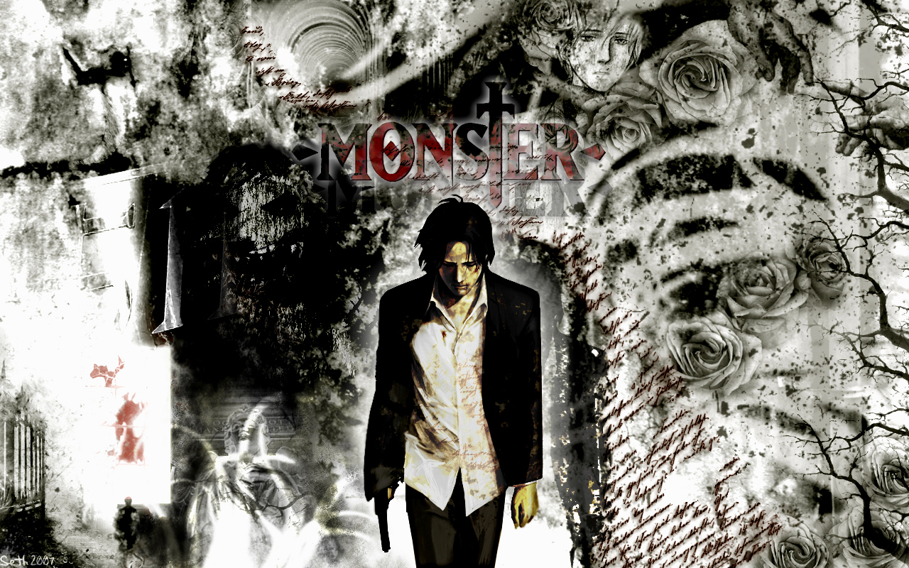 Monster Manga Wallpaper