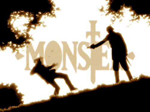 Monster wallpaper containing a street called Monster anime