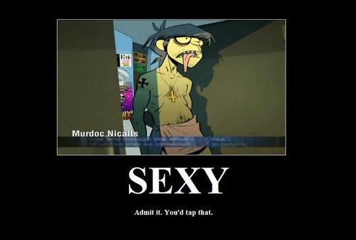 Murdoc is Sex