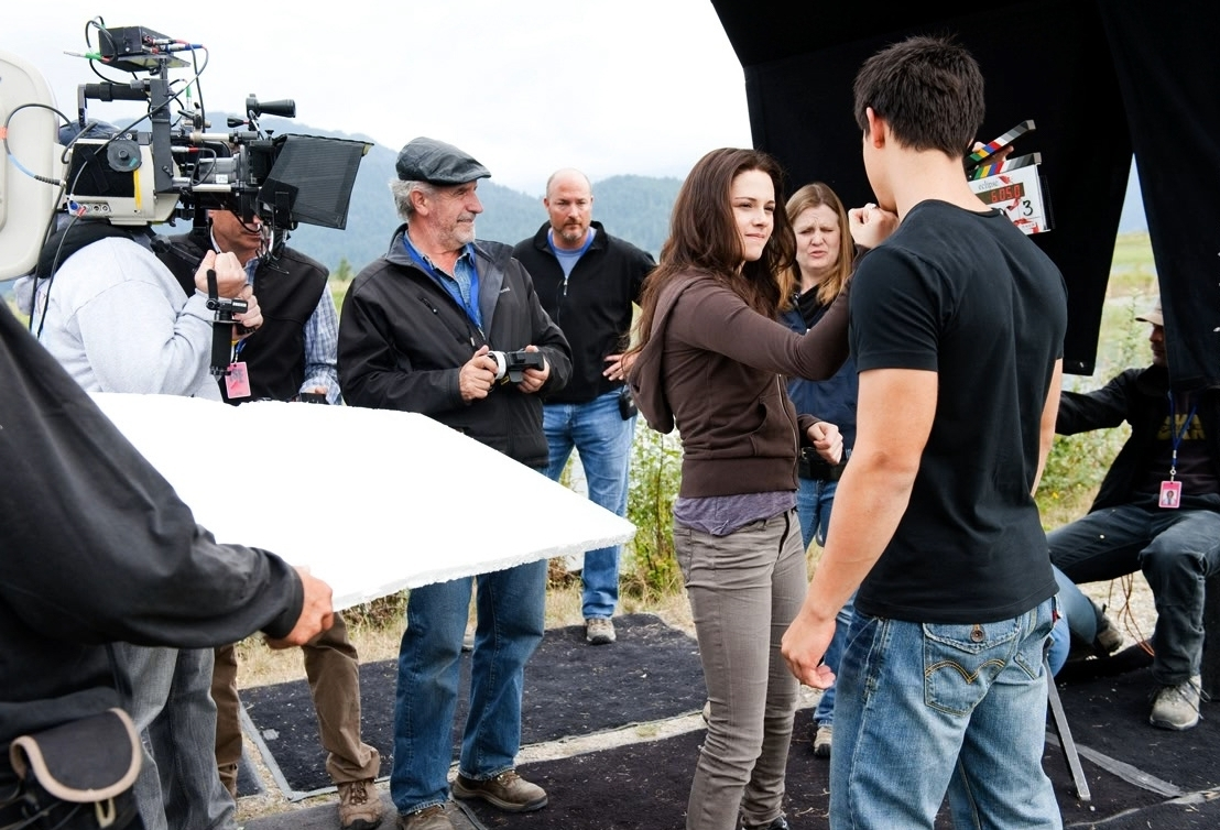 Behind the scenes twilight