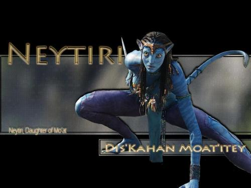 Avatar wallpaper titled Neytiri
